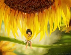 Sunflower_child_by_darkmello