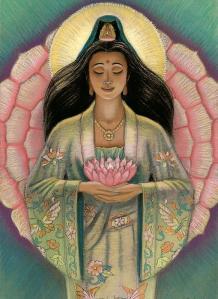 kuan-yin-pink-lotus-heart-sue-halstenberg