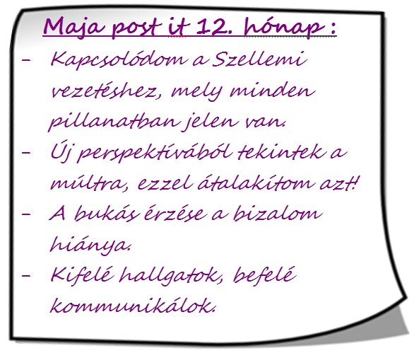 Maja post it 12hó