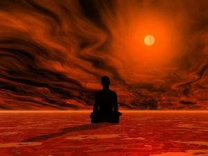 Burning meditation